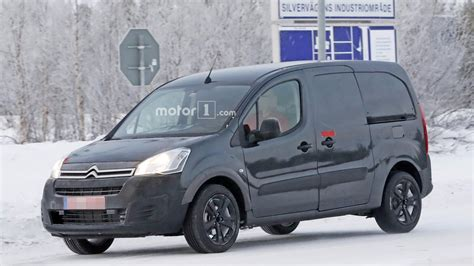 citroen berlingo 2018 citroen berlingo spied for the time