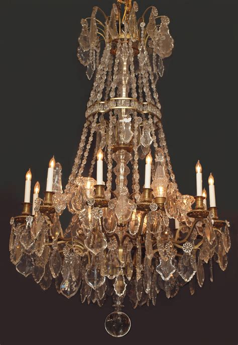Antique Chandelier Crystals For Sale Antique Louis Xvi Baccarat Chandelier Chc118 For Sale Antiques Classifieds