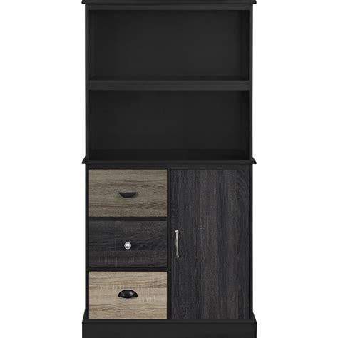colored bookcase ameriwood home newbridge black storage bookcase with