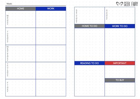 Planner Design download free printable a5 bullet journal filofax inserts