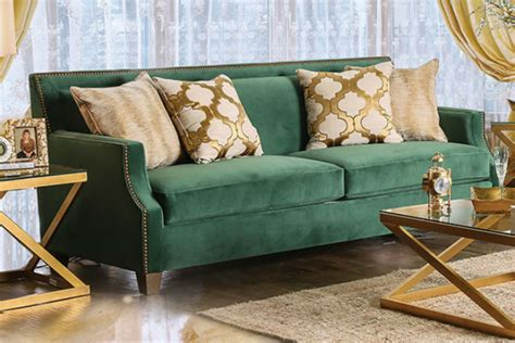 Sofa Hijau ruangan lebih mewah dengan sofa hijau emerald parenting
