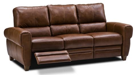 Leather Sofa With Recliner Recliner Couches Living Room Ideas