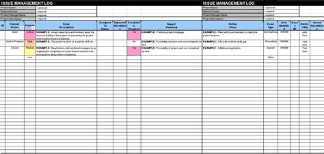 issue log template excel 13 free sle issue log templates printable sles
