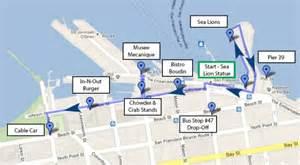 san francisco map fishermans wharf san francisco 2 day highlights itinerary