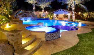 Outdoor Fireplace Arizona - swimming pool design phoenix landscaping design amp pool builders remodeling