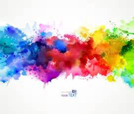 water color splash watercolor splatter rainbow my spine with black
