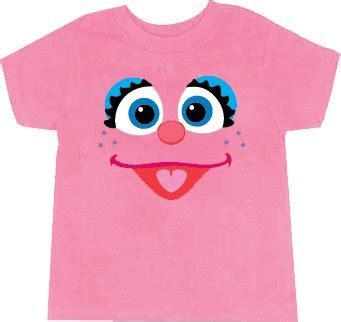 amazon com sesame street abby cadabby big face light pink
