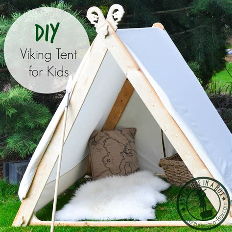 how to make a tent in your living room how to make a viking backyard play tent