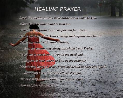 prayer for healing and comfort prayers for healing the sick quotes quotesgram