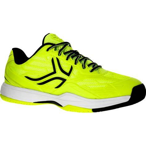 scarpe tennis bambino ts giallo fluo artengo