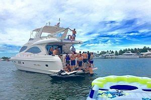 south beach miami party boat rentals south florida yacht charters luxury private boat rentals