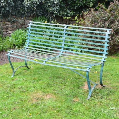 sister company of bench g019 slatted wrought iron garden bench claire langley
