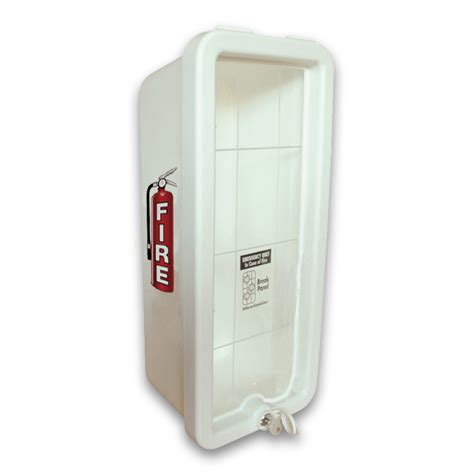 Cato Chief Extinguisher Cabinets cato chief plastic extinguisher cabinet white ca 1