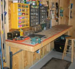 Building A Workshop by Workbenches For Garages Home Decoration Club