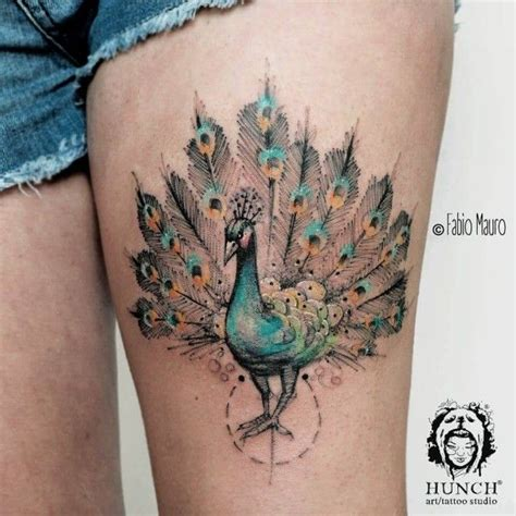 colorful bird tattoos peacock bird www imgkid the image kid has it