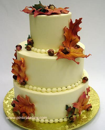Fall Wedding Cakes by Autumn Buttercream Wedding Cake 187 Fall Wedding Cakes