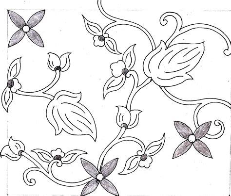 sketsa bunga sketsa bunga hitam putih