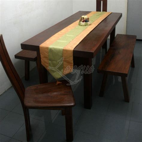 seater dining table   dining side benches leoque collection    collection