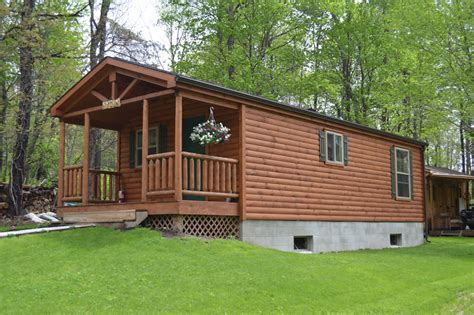 Wide Cabin by Single Wide Log Cabins Pennsylvania Maryland And West Virginia