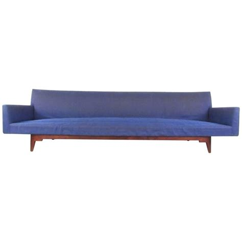 unique mid century modern oversized sofa by risom