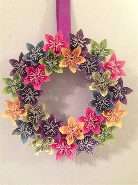 Origami Reef - 30 stunning summer wreaths lydi out loud