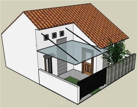 gambar desain dan denah rumah type 21 desain denah rumah terbaru denah rumah minimalis