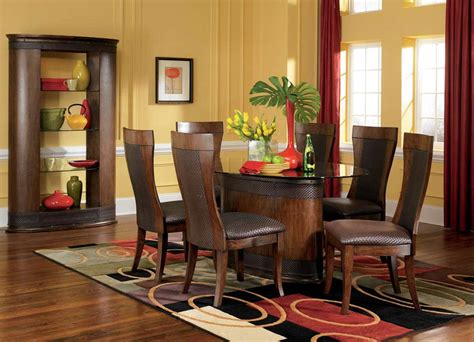 stylish dining room by hendler
