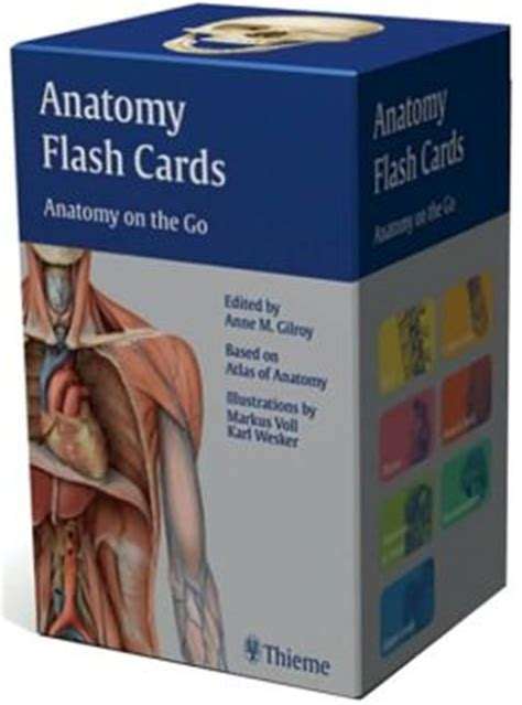 Barnes And Noble Add Gift Card - anatomy flash cards anatomy on the go by anne m gilroy 9781604060720 other format