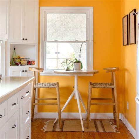 paredes de la cocina en naranja pintomicasa - Decorar Cocina Naranja