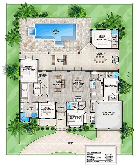 florida home designs floor plans best 25 cheap