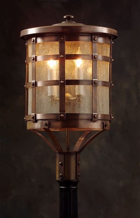 copper l post lantern a tudor style copper post lantern owp1 welcome to