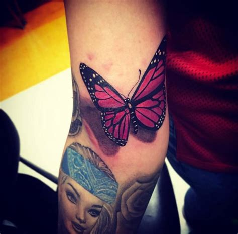 barbie tattoos designs 5 butterfly tattoos
