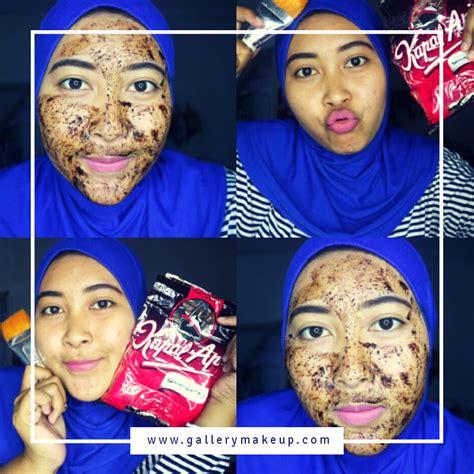 Masker Wajah Bubuk review masker wajah dengan bubuk kopi hitam putih telur