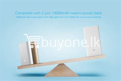 Original Asli Powerbank Xiaomi 20000 Mah Real Capacity Murah best deal original mi xiaomi 20000mah power bank buyone lk shopping store send