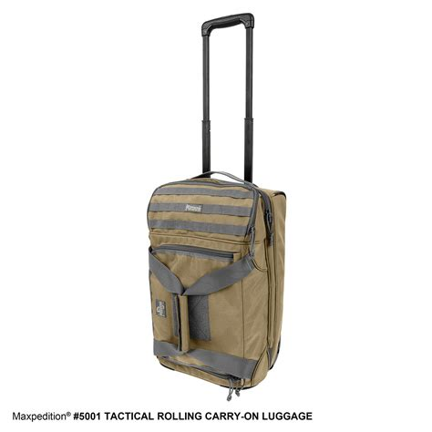 tactical carry on tactical rolling carry on luggage