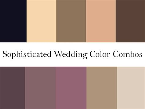 warm purple rich wedding color palettes blushes nudes warm browns