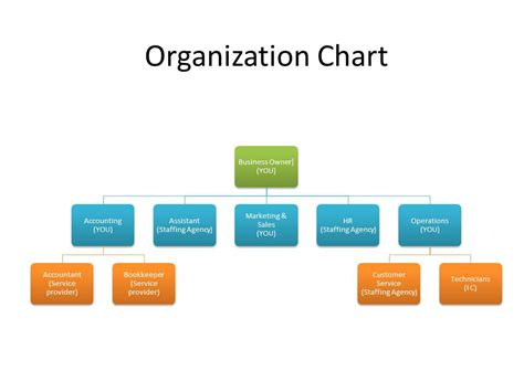 organization chart shoelockey