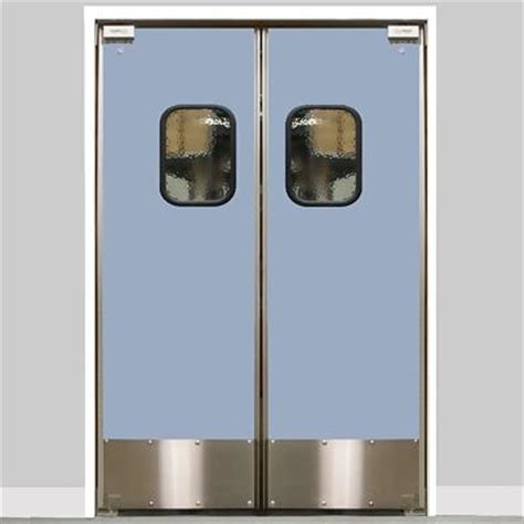 commercial kitchen double swing door eliason lwp 6 56dbl dr 56 quot double door opening easy