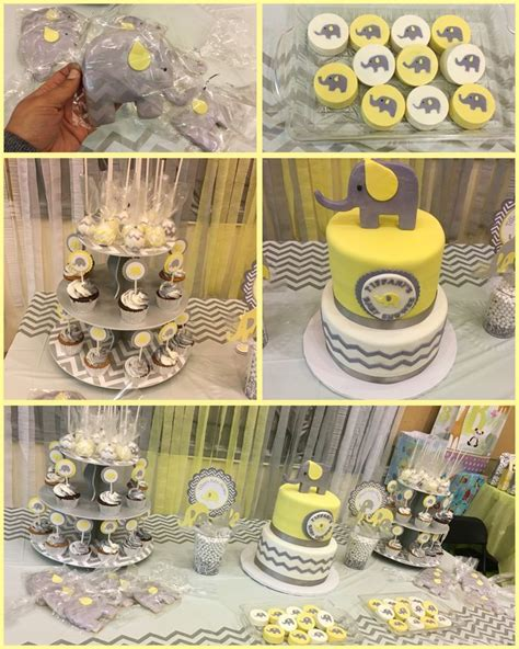 Yellow Gray And White Baby Shower by 66 Best Yellow And Gray Elephant Baby Shower Theme Ideas