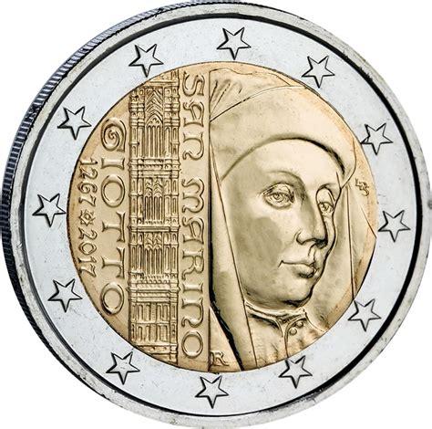 euro par ici deux euro saint marin 2017 giotto monnaie magazine
