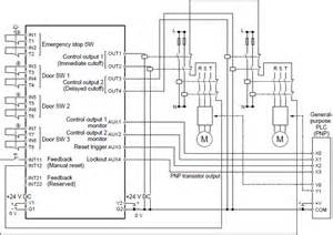 safety unit sf c21 i o circuit and wiring diagrams automation controls industrial