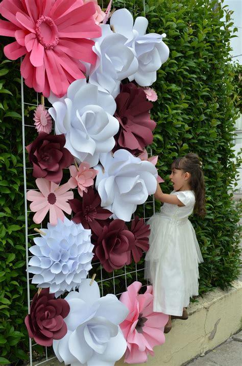 imagenes de flores gigantes flores gigantes de papel 35 00 en mercado libre