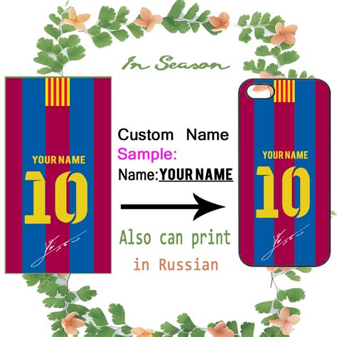 Iphone 7 Plus Arsenal Home Jersey Hardcase get cheap custom barcelona soccer jerseys
