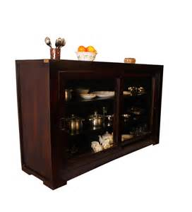 Fine Dining Room Furniture Brands Basil Sliding Crockery Cabinet By Mudramark Online