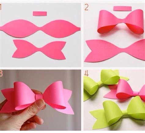 How To Make A Bow On Paper - diy paper bow trusper
