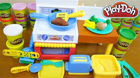play doh cuisine play doh meal makin kitchen playset viyoutube