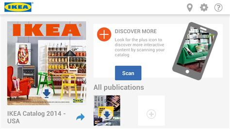 ikea catalogue 2014 ikea s 2014 catalog app places furniture in your room via