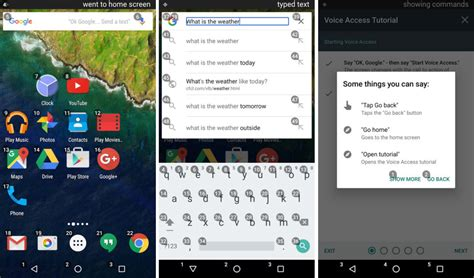 access android s voice access app gives you complete voice your android device