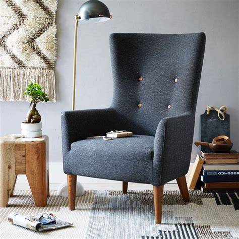 west elm armchair victor armchair west elm uk