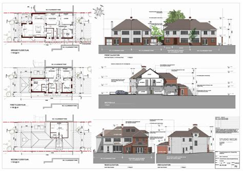 Planning Applications Archives Hennessy Associates Building Design Plan And Elevation